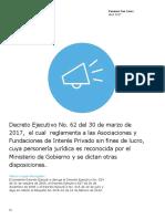ASOCIACIONES SIN FINES DE LUCRO PANAMA 2017.pdf