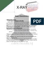 4 Image Characteristics