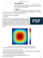 2D Finite Element Method in MATLAB