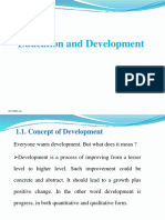 1.1. Cocept of Development