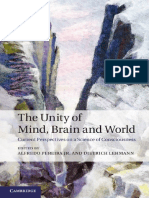 The Unity of Mind, Brain, And World_ Current Perspectives on a Science of Consciousness-Cambridge University Press (2013)