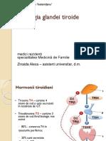 Patologia Glandei Tiroide MF