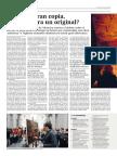 2014 Ante Una Gran Copia Quién Añora El Original