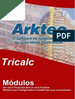Módulos Do Programa Tricalc 2017