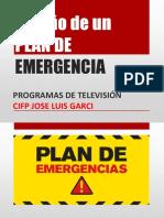 Plan de Emergencias de programas de televisión