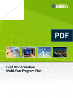 Grid Modernization Multi-Year Program Plan