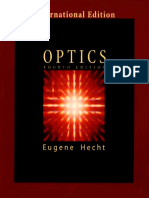 306463819 Physics Optics 4th Edition International Edition Eugene Hecht Pearson Addison Wesley 2002 1