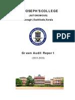 Green Audit BMSC