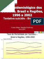 epidemiologia Suicidios
