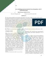 Solubilization of insoluble inorganic phosphate by soil inhabiting fungus Penicillium citrinum Thom
