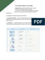 Areas de Figuras Planas y de Volumen