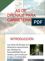 Obras de Drenaje Para Carreteras 1
