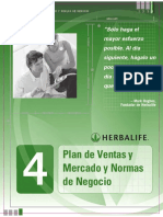 Plan de Mercadeo de Herbalife