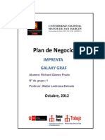 Plan de Negocio - Imprenta - Richard Gómez1