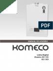 Komeco Digital Manual