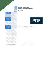 Componente Metodológico MEAD Lec 1