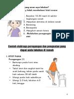 Osteoarthritis Lutut Print