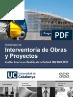 Diplomado en Interventoria de Obras y Proyectos