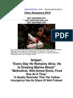 Military Resistance 8H16 Sniper