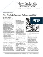 Hidden Risks in Third Party Vendor Agreements