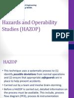 CEV654-Lecture 5c Hazard Analyis HAZOP