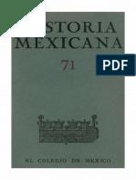 Historia Mexicana 071 Volumen 18 Número 3.pdf