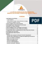 Manual de Estágio II Em Geografia Ensino Fundamental 2017-2