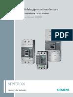 SENTRON Molded Case Circuit Breakers 3VL en US