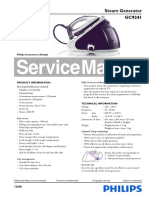 Philips Gc9241_02 Service Manual