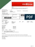 Lion Air ETicket (CIUWYA) - Bambang