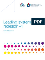 Leading System Redesign1