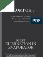 Evaporator Entrainment