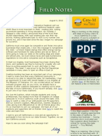 Field Notes From The Meg Whitman Campaign - August 6, 2010
