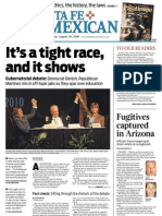 The Santa Fe New Mexican Aug. 20, 2010