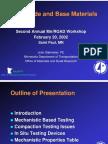 Subgrade and Base Materials (DCP)