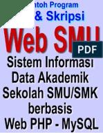 Web SMK dan SMK - Sistem Informasi Akademik Sekolah Berbasis Web PHP MySQL