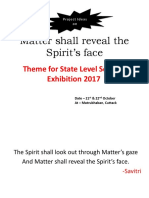 Matter Shall Reveal the Spirit