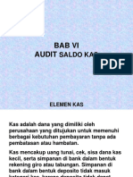 Bab 6 Audit Saldo Kas