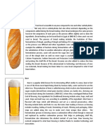 Informics on Bread, Beer anw Wine