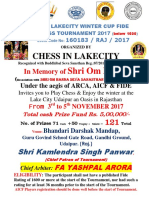 New Vikas 08-08-2017 Final Chess in Lakecity Winter Cup Below 1600 Fide Rating Chess Tournament Ilovepdf Compressed