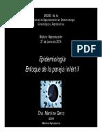 Algortimo de Pareja Infertil Saegre Bs as 2014