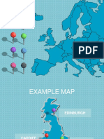 Mapa Europa Editavel