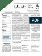 Boletin Oficial 20-08-10 - Segunda Seccion