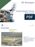 Ge Shreveport - Voltage Regulators - Short Course