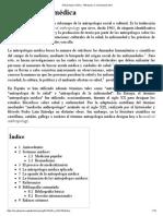 Antropología Médica - Wikipedia, La Enciclopedia Libre