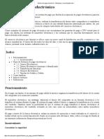 Sistema de Pago Electrónico - Wikipedia, La Enciclopedia Libre