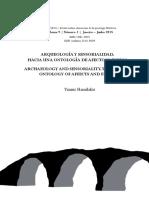 Hamilakis (2015)-Arqueología Sensorial