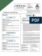 Boletin Oficial 20-08-10 - Primera Seccion