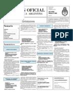 Boletin Oficial 20-08-10 - Tercera Seccion