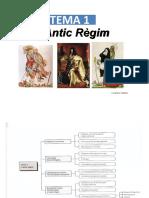 Tema 1. L'Antic Règim